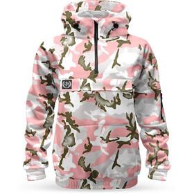 Loose Riders Fleece Anorak Women, pink